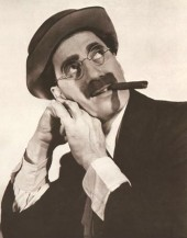 Quote Picture From Groucho Marx